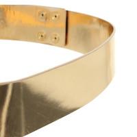 Kaviar Gauche Belt in metallic Rosé