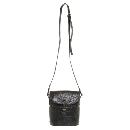 Mulberry Shoulder bag in reptile finish
