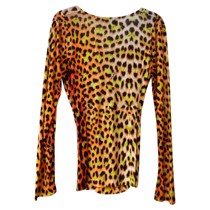 Just Cavalli top with leopard pattern