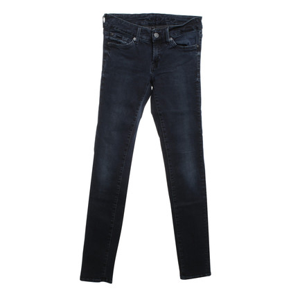 7 For All Mankind Skinny jeans met wasmachine
