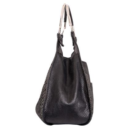 Christian Dior Handtasche aus Pythonleder