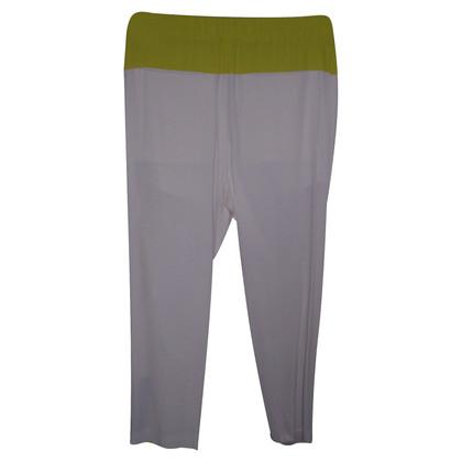 MSGM pantaloni bianchi
