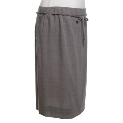 Akris skirt in grey