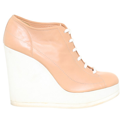 Jil Sander Plateau lace-up shoes with wedge heel