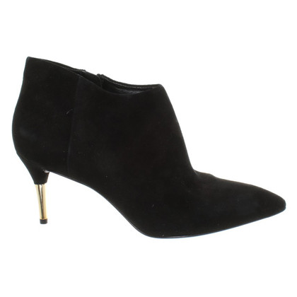 Brian Atwood Black ankle boots from suede