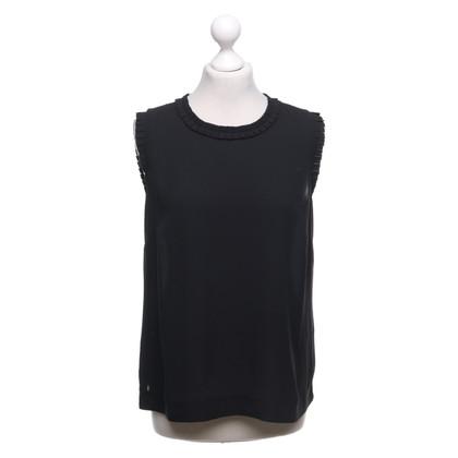 J. Crew Blouse shirt in zwart