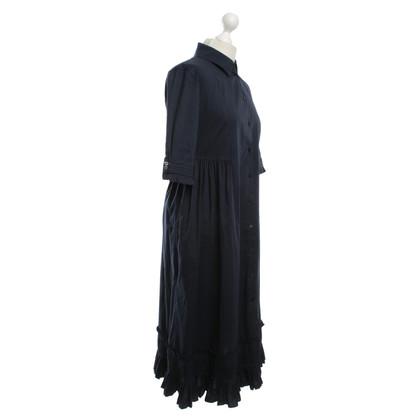 Max Mara Maxi dress in dark blue