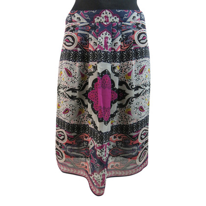Etro Magical silk skirt