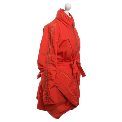 Marithé et Francois Girbaud Coat in red