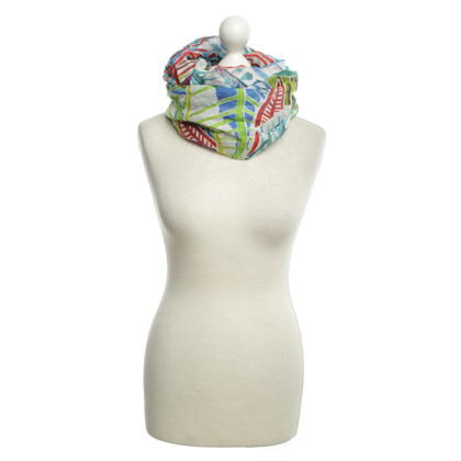 Marc Cain Scarf with floral pattern