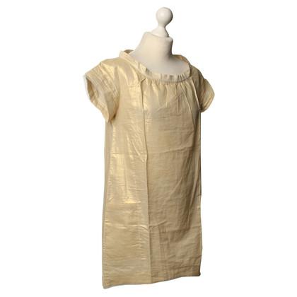 Vanessa Bruno Gold-colored T-Shirt dress