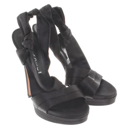 Casadei Sandaletten in Schwarz