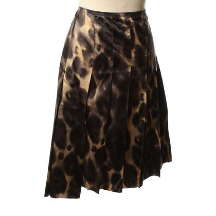 Prada Silk skirt pattern