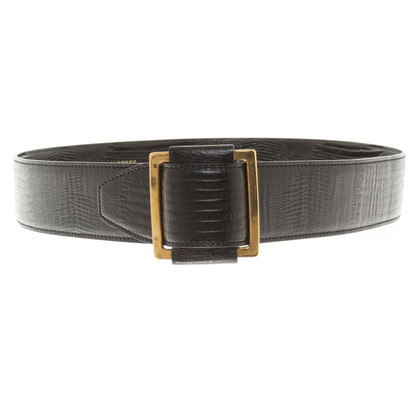 Stella McCartney Belt with reptile embossing