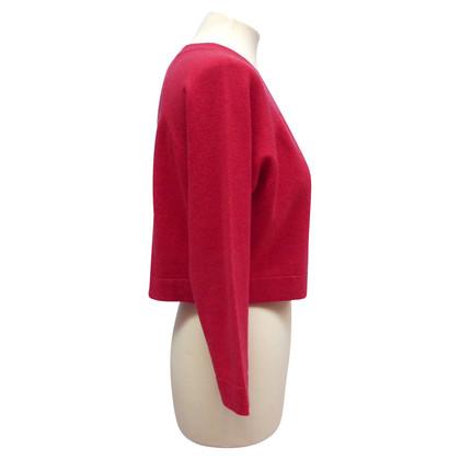 Chanel giacca di cachemire con bottoni logati