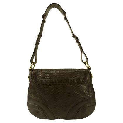 Missoni Braune Lederhandtasche