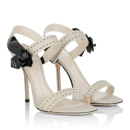 Christian Dior Sandaletten in Beige
