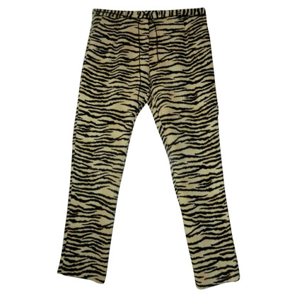 Maison Scotch Pants with Animal Print