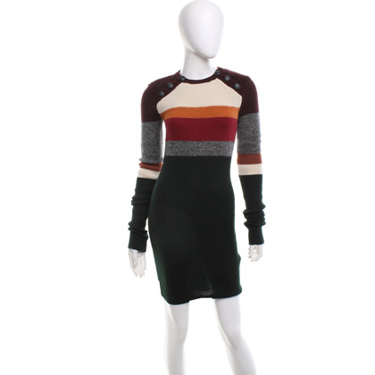 Isabel Marant Strickkleid in Multicolor