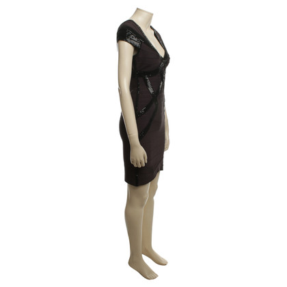 Herve Leger Dress in black with sequins