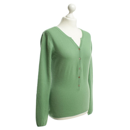 FTC Cashmere sweater in Apple green