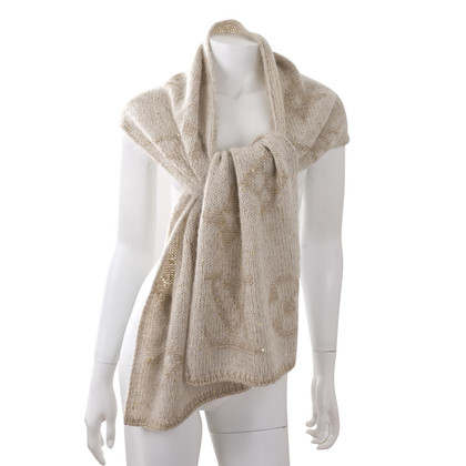 Louis Vuitton Mohair sjaal & hat