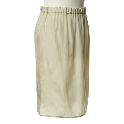 Costume National Beige silk skirt