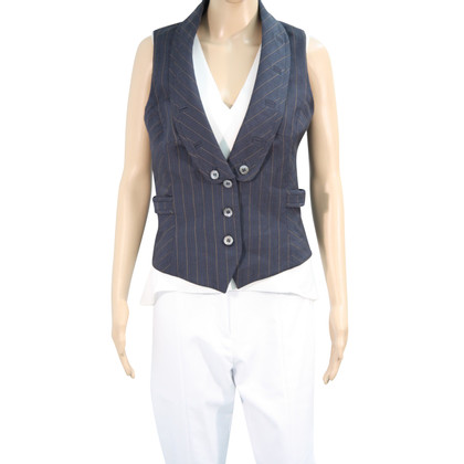 Karen Millen Vest in dark blue