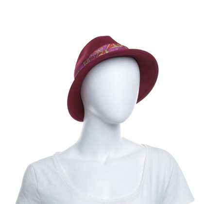 Etro Hat in fuchsia