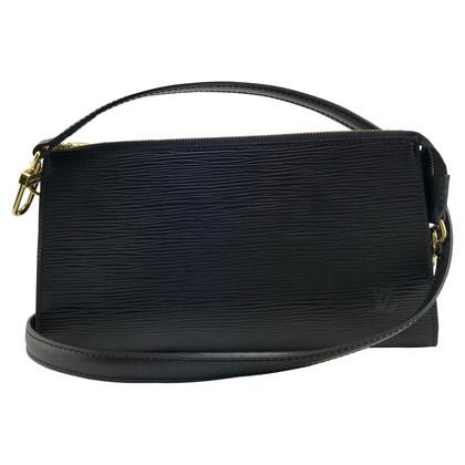 """Louis Vuitton """"Pochette Accessoires Epi Leder"""" inkl. Schultergurt"""
