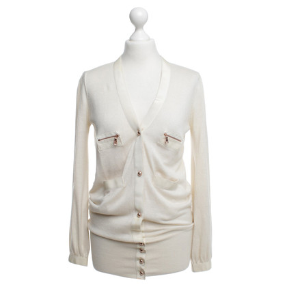 Mulberry Cardigan in crema