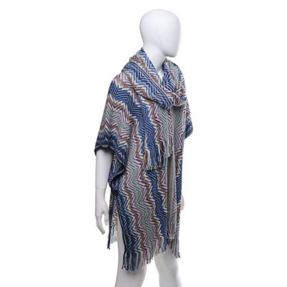 Missoni Poncho met sjaal