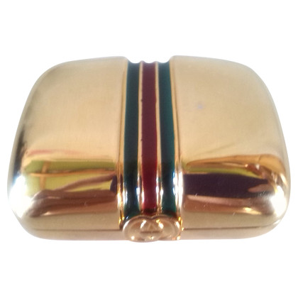 Gucci Scatola di metallo color oro