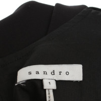Sandro top in black
