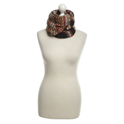 Missoni Scarf with waffle structure