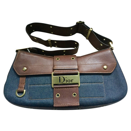 Christian Dior Schultertasche Blau iOoB9fxerL
