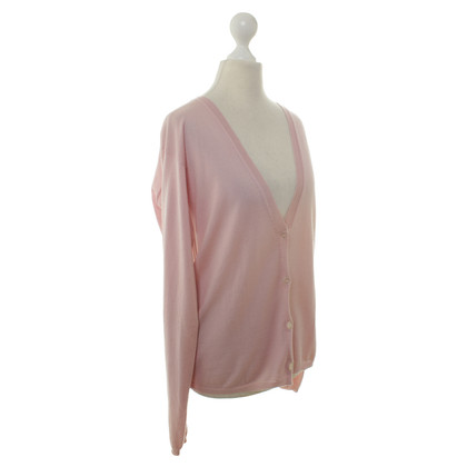 Jil Sander Strickjacke in Rosa