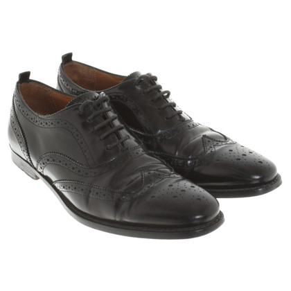 Burberry Lace-up shoes in black