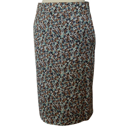 Dries van Noten MIDI-skirt print