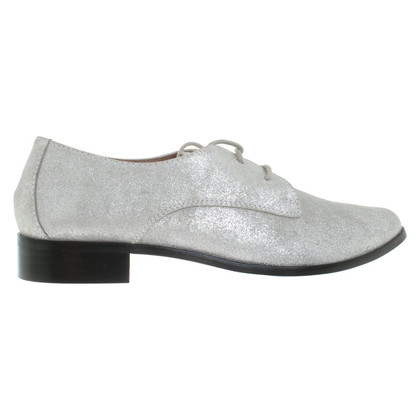 St. Emile Lace-up shoes in silver