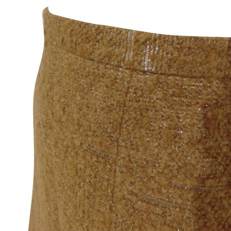 Moschino Cheap and Chic Wollrock Gold Orange 100% Original Billige Eastbay Billig Wirklich FnnaRa0