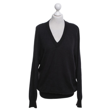 Maison Martin Margiela Knitted sweater in black