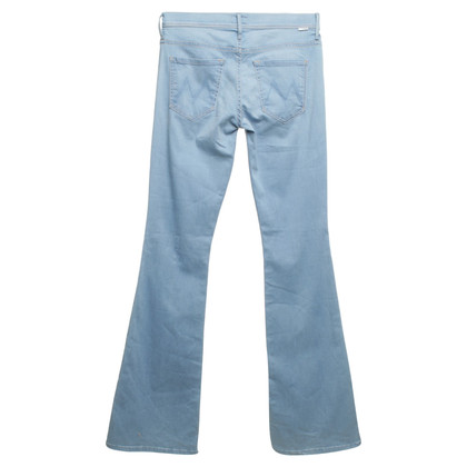Mother Hoge taille jeans in Blue