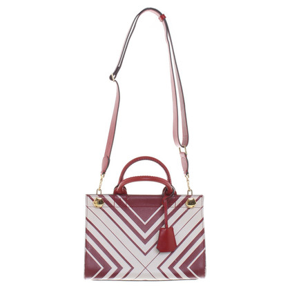 Anya Hindmarch Handtas in rood / wit