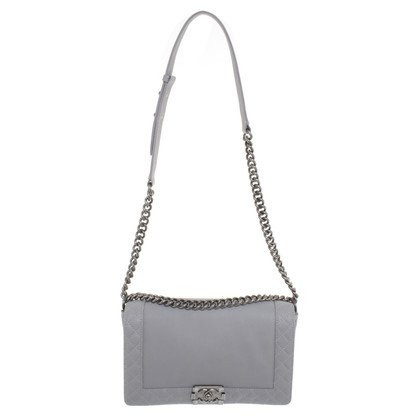 Chanel Boy Bag in grey