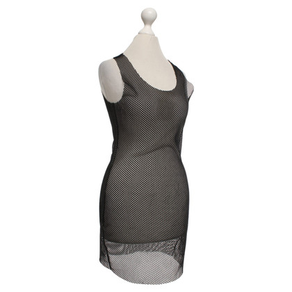 MM6 by Maison Margiela Short dress made of mesh