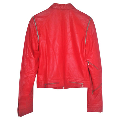 Versus Versace Versus 'BEAT IT' Leather Jacket