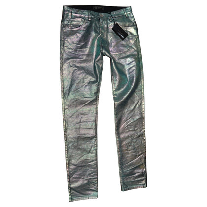 Versace gemetalliseerde broek