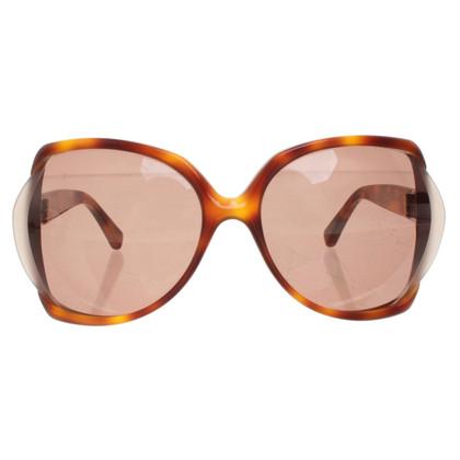 Yves Saint Laurent Sonnenbrille mit Schildpattmuster