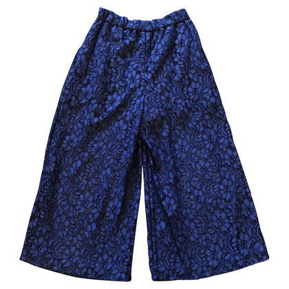 MSGM Embroidered trousers